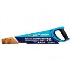 Ножовка FinShark по дереву Профи 500мм 3D-заточка.комбинированный зуб 7T+5T,  рукоятка 2-х компонентрная с резиновыми вставками.