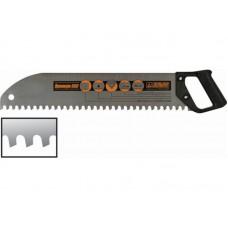 Ножовка по пенобетону Премиум 550 шаг 16 закругленное полотно (32шт/уп)