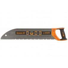 Ножовка по дереву Премиум 500 шаг 6 закругленное полотно (32шт/уп)