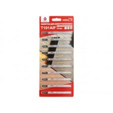 Полотна для лобзика LIGRELL T101AIF BIM чист.прямой рез, для тв.пород древ./ламината (40953L-10) 10 отрывных капсул в блистере