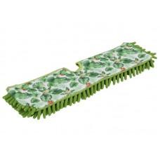 Насадка д/швабры ORION 41022 39*10см микрофибра двусторонняя зелен (24) для швабры 11018, 11022