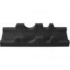 Стусло пластиковое 300х65мм без пилы черное (60шт/уп)