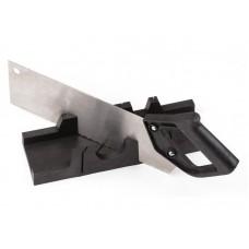 Набор Стусло черное + ножовка 300мм (40шт/уп)