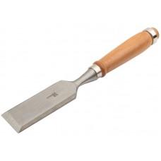 Стамеска с деревянной ручкой, 38мм (8/80шт/уп)