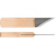 Нож сапожный 180мм ТрудВача короткое лезвие со скосом C900/2с (50шт/уп)
