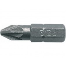 Биты односторонние, сталь S2, PZ 0 х 25мм (10шт) (1шт/уп)
