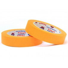 Лента маскировочная EUROCEL 80°С-30мин, оранжевая, 19ммx40м MSK 6267 /48шт