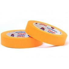 Лента маскировочная EUROCEL 80°С-30мин, оранжевая, 38ммx40м MSK 6267 /24шт