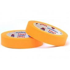 Лента маскировочная EUROCEL 80°С-30мин, оранжевая, 50ммx40м MSK 6267 /24шт