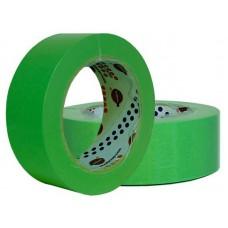 Лента маскировочная EUROCEL 80°С-30мин, зеленая, 25ммx40м MSK 6268 /36шт