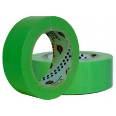 Лента маскировочная EUROCEL 80°С-30мин, зеленая, 30ммx40м MSK 6268 /32шт