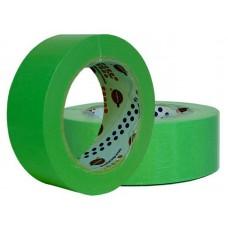 Лента маскировочная EUROCEL 80°С-30мин, зеленая, 38ммx40м MSK 6268 /24шт