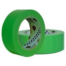 Лента маскировочная EUROCEL 80°С-30мин, зеленая, 50ммx40м MSK 6268 /24шт