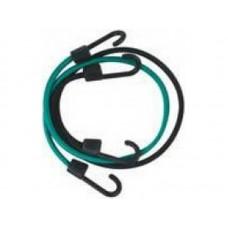 Шнур крепежный резиновый 1200х7мм со стальными крюками (50шт/уп)