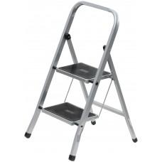 Лестница-стремянка стальная, 2 широкие ступени,  Н=83 см, вес 3,45 кг