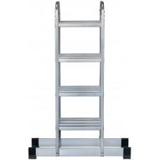 Лестница-трансформер алюминиевая, 4 секции х 4 ступени, вес 13,2 кг