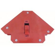 Держатель для сварки магнитный отключаемый WILLMARK, 3 угла, сцеп. 25кг.  (6/24шт)