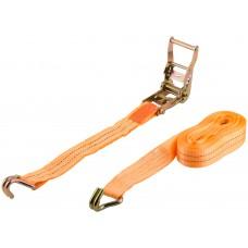 Ремень для крепления груза, храповый механизм, лента 38 мм х 8 м, 1500 кг