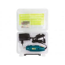 Гравировальная машина мини 12 Вт  12000 об/мин  3,2 мм  адаптер  набор насадок  пластик. кейс (24шт/уп)