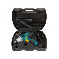 Гайковерт электрический 450 Вт  0-3200 об/мин  300 Нм   БС щеток   рез. накл.   коробка (4шт/уп)