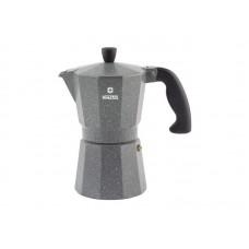 Кофеварка алюминиевая гейзерная  Moka Granito, 3 cups 89397