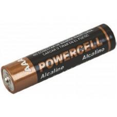 Батарейка POWERCELL щелоч. AAA 1.5V 4шт. LR03-4BPC 12/144