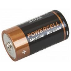 Батарейка POWERCELL щелоч. C 1.5V 2шт. LR14-2BPC 6/48шт.