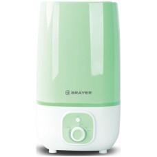 4700BR-GN Увлажнитель ультразвуковой BRAYER, 4 л, 25 м, 13 ч., регулировка интенсивности, аромат.