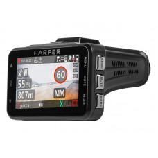 Автомобильный видеорегистратор радардетектор HARPER DVHR-915