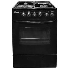 Лысьва ЭГ 1/3г01 МС-2у Газоэлектрическая плита черная, без крышки