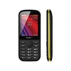 teXet TM-208 черный-желтый Мобильный телефон