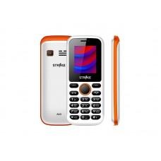Strike A10 White+Orange Мобильный телефон