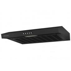 KRONA ERMINA 600 black PB вытяжка кухонная
