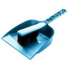 Набор  Практик  щетка-сметка с совком аквамарин