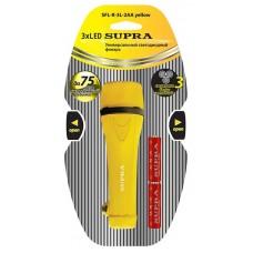 Фонарь резиновый SUPRA SFL-R-3L-2AA yellow 2432